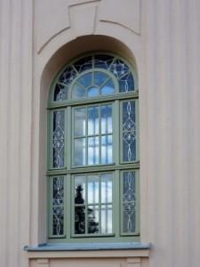 Fenster mit Bleiverglasung