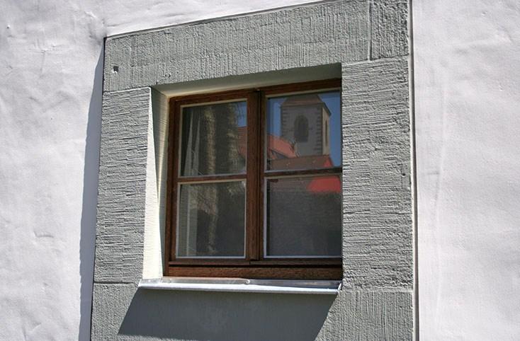 Holzverbundfenster in Eiche