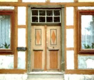 Tür im Original