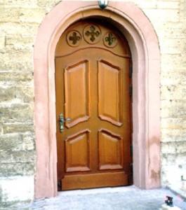 Kirchentür außen