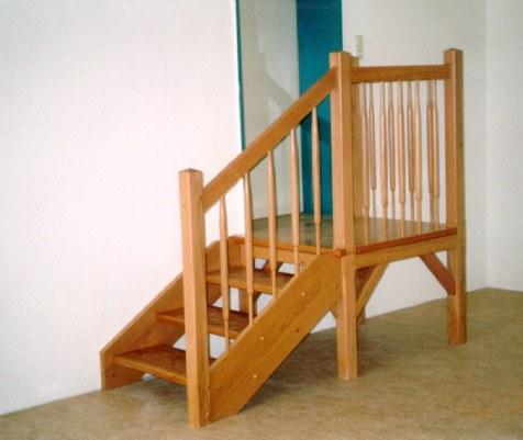 tischlerei vatteroth podesttreppe. Black Bedroom Furniture Sets. Home Design Ideas