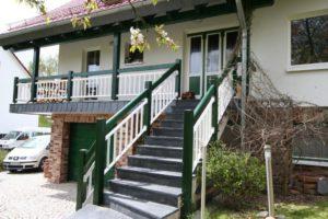 Geländer für Außentreppe